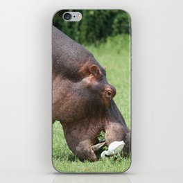 Sharing the spoils. iPhone Skin
