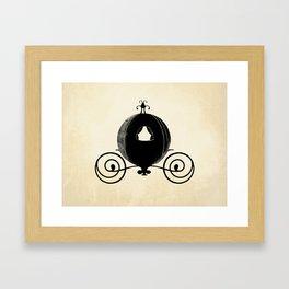 Midnight Carriage Framed Art Print