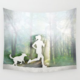 Forest Run Wall Tapestry