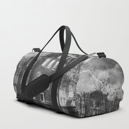 reflection canal water street Duffle Bag
