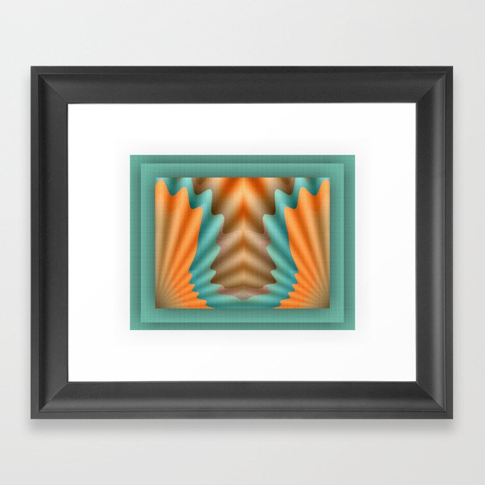 The Pendant Framed Art Print