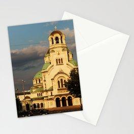 Alexander Nevsky Cathedral Sofia, Bulgaria Stationery Cards