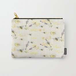 Lemons and lavender  Carry-All Pouch