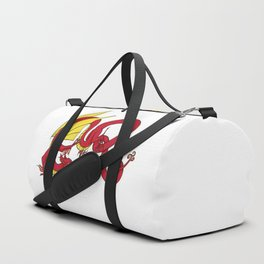 ER Celt Dragon - Red, Yellow Wings Duffle Bag