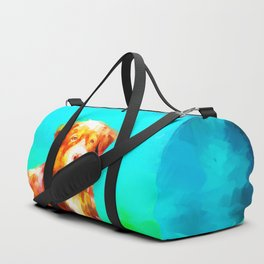 Dog in Water Duffle Bag
