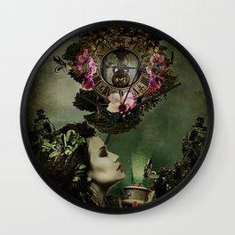 Green Dream Wall Clock