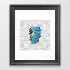 EKIN Framed Art Print
