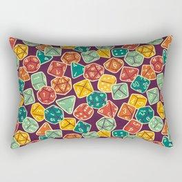 Dice Addict Rectangular Pillow