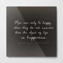 The Key to Happiness Metal Print