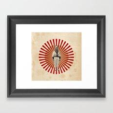 God save the Dog! Framed Art Print