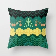 HARMONY pattern Throw Pillow
