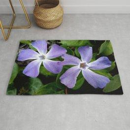 Purple flower 13 Rug