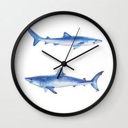 Sharks Wall Clock