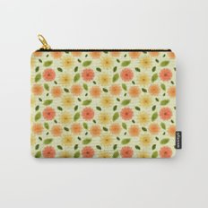 Fresh Floral Carry-All Pouch