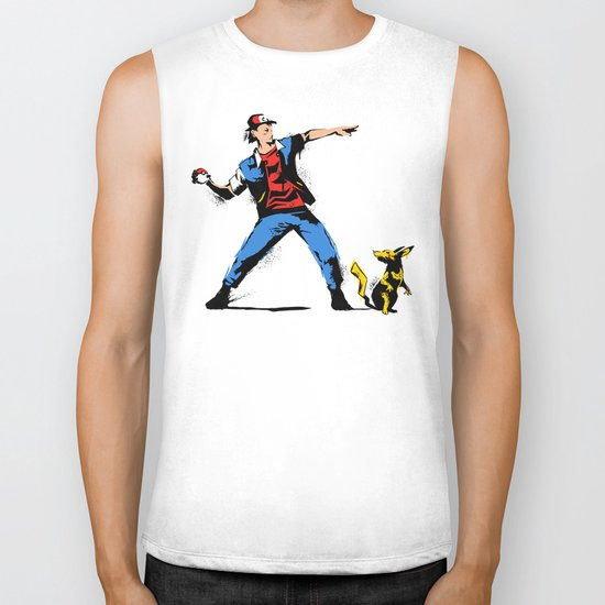 Gotta Catch em all  Biker Tank