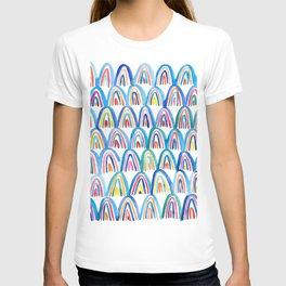 Watercolor Rainbows T-shirt