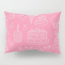 Pink Dessert Pillow Sham