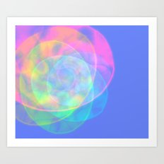 Devine Light Art Print