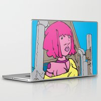 doll Laptop & iPad Skins featuring Doll by Professor Lunchbox