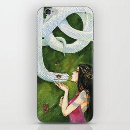 The White Snake iPhone Skin