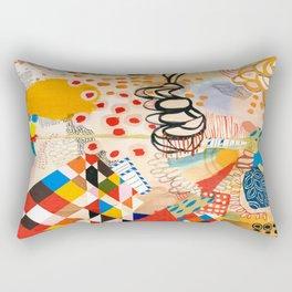 Wallpaper and Diamonds Part II Rectangular Pillow