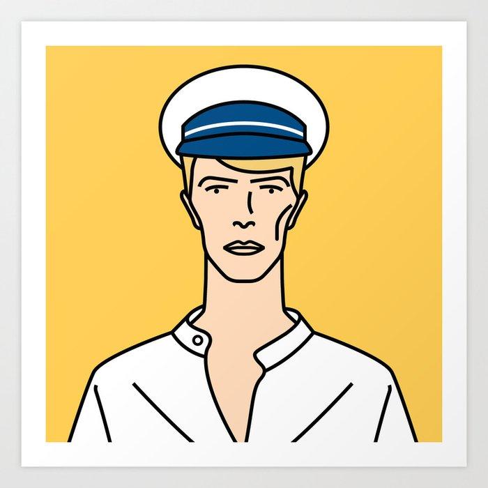 David Bowie – Isolar II Tour Art Print by cartoonbowie   Society6