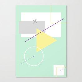 Geometric Calendar - Day 2 Canvas Print