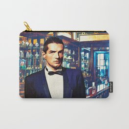 Falco at the Cafe Carry-All Pouch