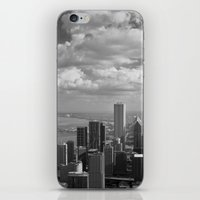 chicago iPhone & iPod Skins featuring chicago... by Chernobylbob