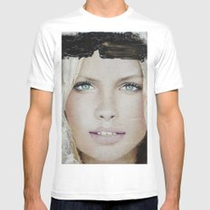 Face16 Mens Fitted Tee MEDIUM White