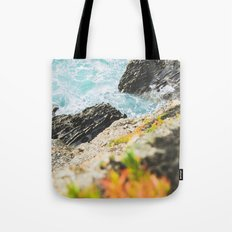 The sea and the color Tote Bag