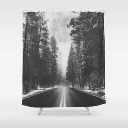 ROAD TRIP IV / Yosemite, California Shower Curtain