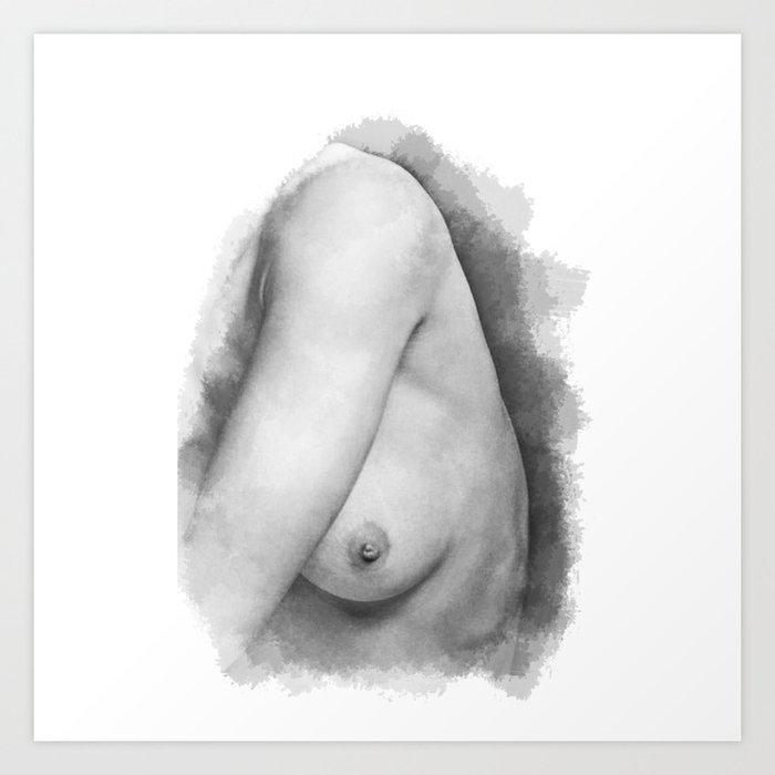 Nude art on nippal remarkable
