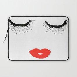 Lashes & Lips Laptop Sleeve