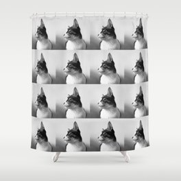 Thats my Cat !! 05 Shower Curtain