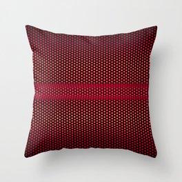 RED MESH Throw Pillow