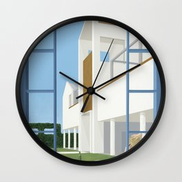 Winery Afternoon Wall Clock