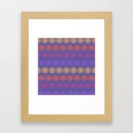 Vintage Kaleidoscope Framed Art Print