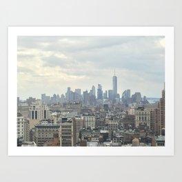 NYC Skyline #2 Art Print