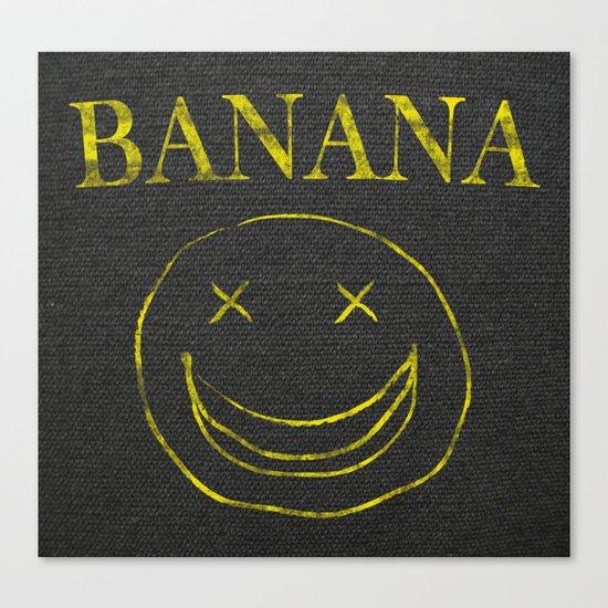 Banana Smile Canvas Print