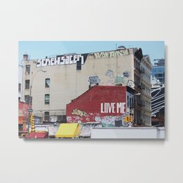 Canal and Broadway Metal Print
