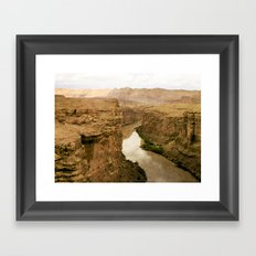 Colorado River Framed Art Print