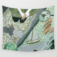 Carrot picnic Wall Tapestry