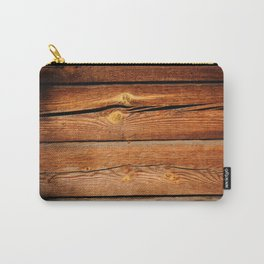 Rustic Wooden Planks  Wood Board Country Gifts Carry-All Pouch
