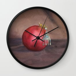 Still Life With Earring Wall Clock