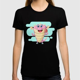 Dragon with Lollypop Candy T-shirt