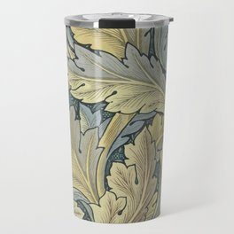 William Morris Acanthus Leaves Floral Art Nouveau Travel Mug