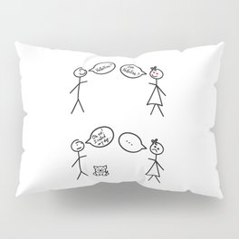 San Valentine's Day for Him Pillow Sham