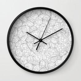 Diamonds Are Forever III Wall Clock