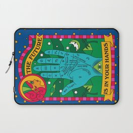 The Future is In Your Hands Laptop Sleeve